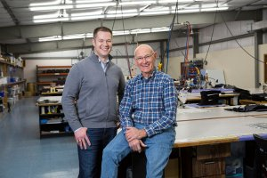 brown sales family run business father and son